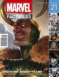 Marvel Fact Files #21 Loki Cover