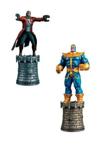 Marvel Chess Figure Coll Mag Special #3 Star-lord & Thanos Alt Kings
