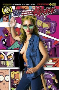 Amerikarate #1 (Cover E - Photo)