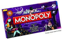 Nightmare Before Christmas Monopoly Coll Ed