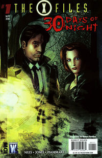 X-Files 30 Days Of Night #1 (of 6) (Cover B - X-Files by Mandrake)