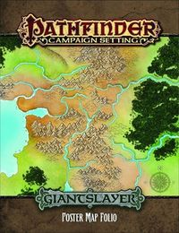 Pathfinder Campaign Giantslayer Poster Map Folio