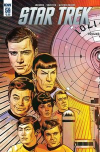 Star Trek comics at TFAW.com