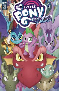 My Little Pony Friendship Is Magic #56 (Cover A - Garbowska)