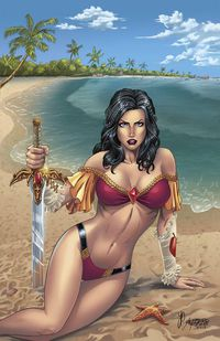 Grimm Fairy Tales Swimsuit Special 2017 (Cover A - Reyes)