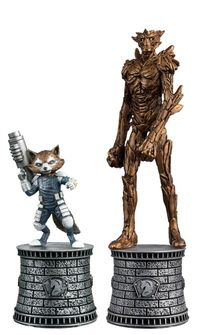 Marvel Chess Figure Coll Mag Special #2 Rocket Raccoon & Groot