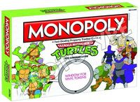 Teenage Mutant Ninja Turtles Retro Monopoly
