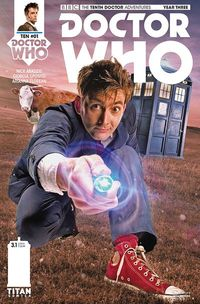 Doctor Who 10th Year 3 #1 (Cover B - Photo)