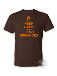 Serenity Keep Calm and Bring Grenades T-Shirt LG