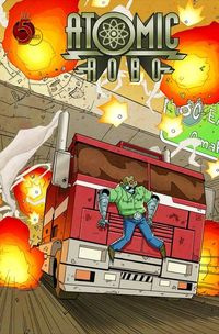 Atomic Robo Ghost Of Station X #4 (of 6)
