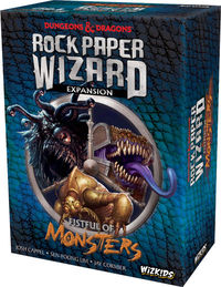 Dungeons & Dragons: Rock Paper Wizard Fistful of Monsters Expansion