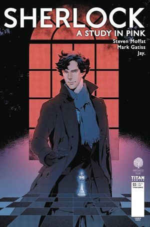 Sherlock A Study In Pink #3 (of 6) (Cover A - Jay)