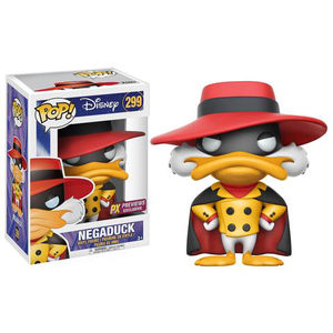 Pop Disney Darkwing Duck Negaduck Previews Exclusive Vinyl Figure