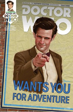 Doctor Who 11th Year 3 #7 (Cover A - Myers)
