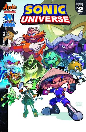Sonic Universe #84 (Regular Cover A - Jamal Peppers)