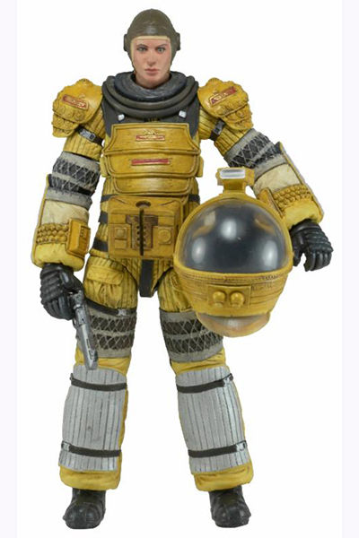 Aliens Series 6 Action Figure: Amanda Ripley In Compression Suit 51366A