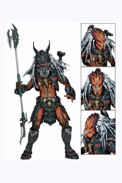 Predators 7-in Action Figure - Clan Leader Deluxe Figure 51537-LEADERDLX