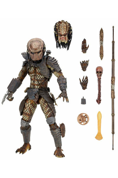 Predator 2 7-in Action Figure - Ultimate City Hunter 51549-ULTCITY