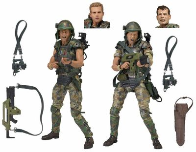 Aliens Colonial Marines 30th Anniversary 7-Inch Action Figure 2-Pack 51643-SINGLE