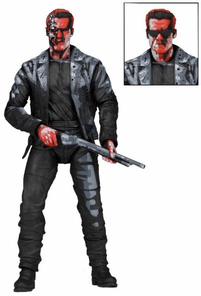 Terminator 7-Inch Action Figure - Terminator 2 T-800 Video Game Appearance 51910