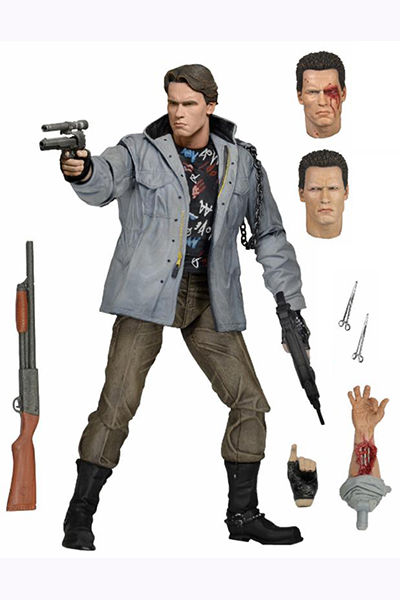 Terminator 7-Inch Action Figure - Terminator Ultimate T-800 (Tech Noir) 51911