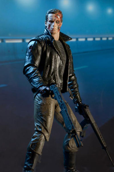 Terminator 7-Inch Action Figure - Ultimate Police Station Assault T-800 51912