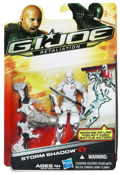 "G.I. Joe Retaliation Storm Shadow 3 3/4"" Action Figure 52220-98494"
