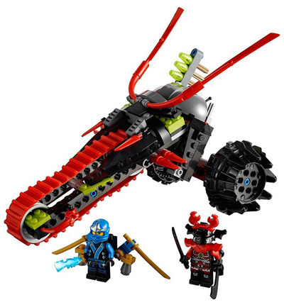 Lego Ninjago Warrior Bike