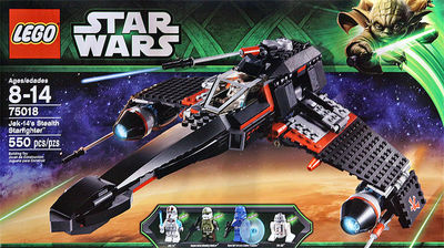 Lego Star Wars Jek 1439s Stealth Starfighter 75018