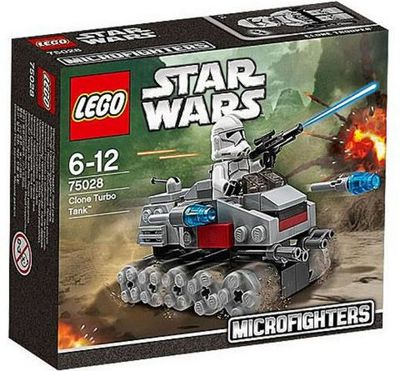 Lego Star Wars Clone Turbo Tank Microfighters 75028