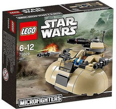 Lego Star Wars AAT Microfighters 75029