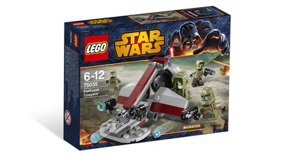 Lego Star Wars Kashyyyk Trooper Battle Pack 75035