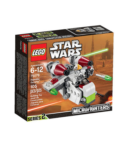 Lego Star Wars Republic Gunship 75076