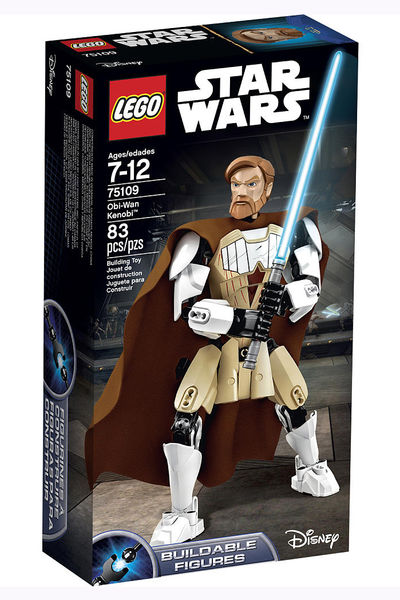 Lego Star Wars Buildable Figures - Obi-Wan Kenobi (75109) 6117506