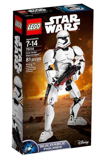 Lego Star Wars Buildable Figures - First Order Stormtrooper (75114) 6136877