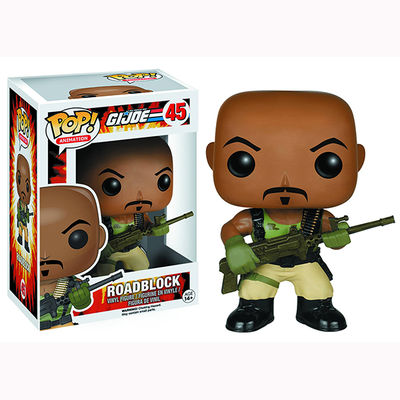 Pop Animation: G.I. Joe Vinyl Figures Roadblock 6137