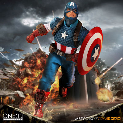 One-12 Collective Captain America Action Figure 76251