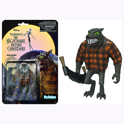 ReAction Nightmare Before Christmas Wolfman Figure 7727