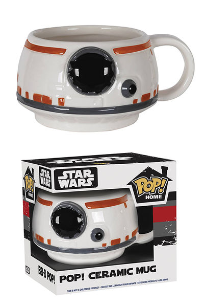 Funko Pop T-Shirts: Star Wars Episode 7 - BB-8 Type Poster, Small
