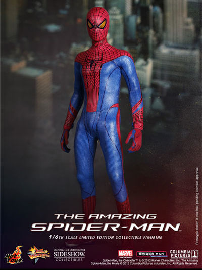 Hot Toys Amazing Spider-Man 1/6 Scale Figure 901891