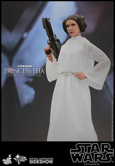 Hot Toys Star Wars Princess Leia Movie Masterpiece 16 Scale Figure