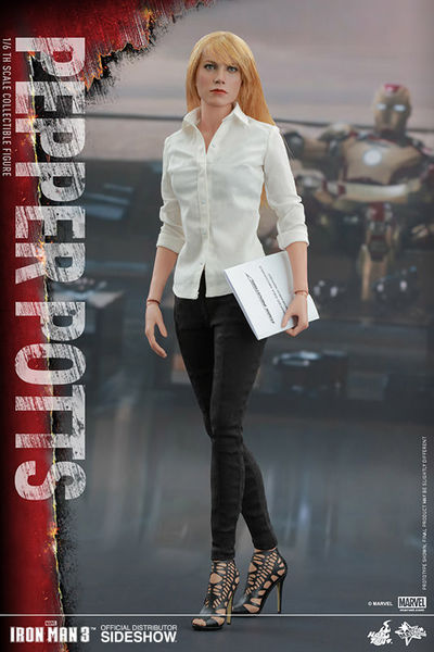 Hot Toys Movie Masterpiece Series Iron Man Pepper Potts 1/6 Scale Figure 902510