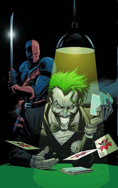 Deathstroke - Joker Cover