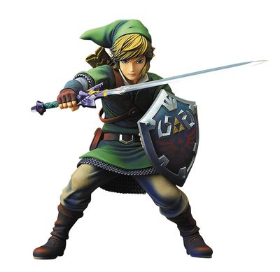 Legend of Zelda Skyward Sword Link 1/7 PVC Figure APR168623I