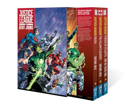 Justice League By Geoff Johns Box Set Vol. 01 APR170429D