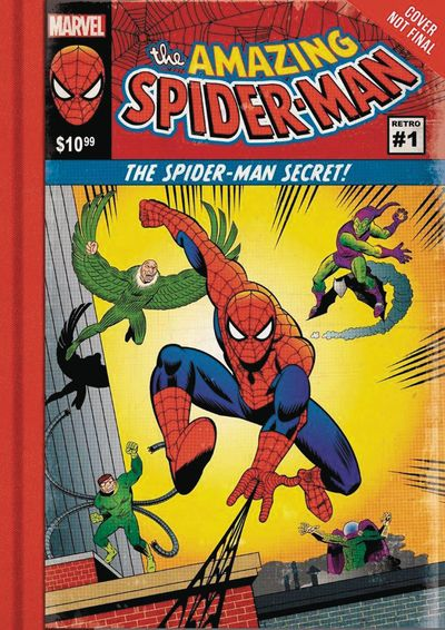 Amazing Spider-Man Spider-Man Secret HC APR172265F