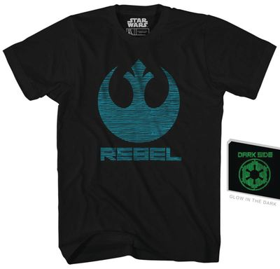Image of Star Wars Double Agent Previews Exclusive Black Gid T-Shirt MED