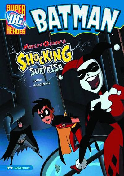 DC Super Heroes Batman Young Reader TPB Harley Quinns Shocking Surprise AUG131589H