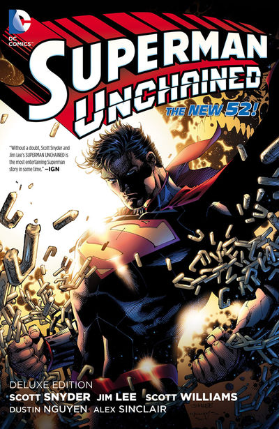 Superman Unchained Deluxe Ed HC AUG140334D
