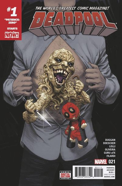 Deadpool comics at TFAW.com